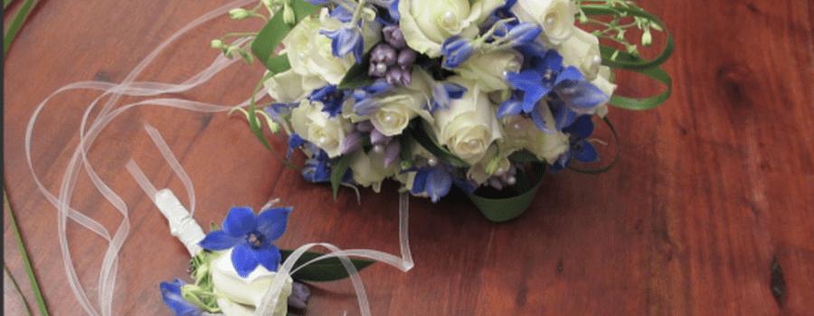 Beispiel: Brautstrauß, Foto: Nymph Blumendesign.