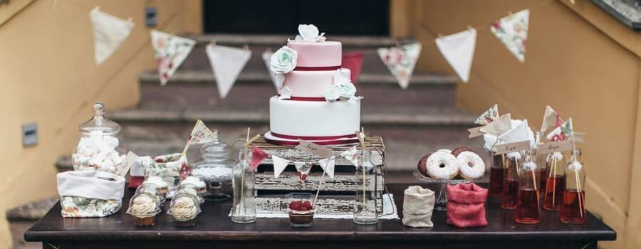 Le Ninette: allestimento sweet table