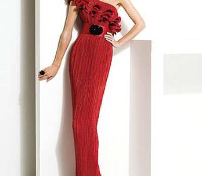 Beispiel: Abendkleider für die Frau mit Stil, Foto: Petra Pabst.