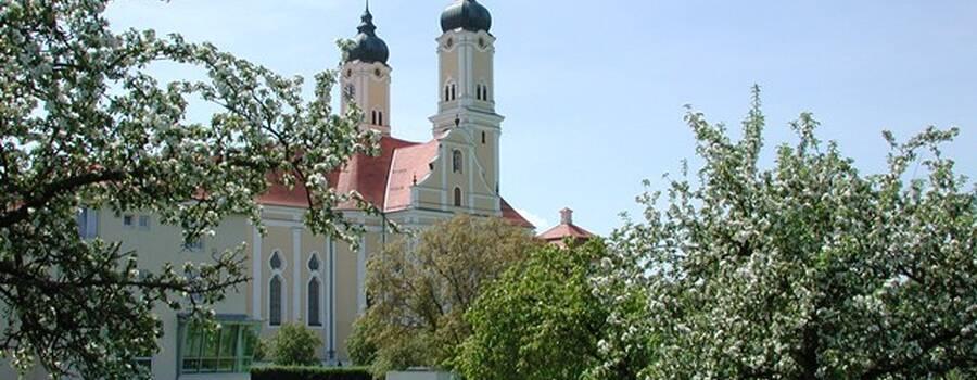 Beispiel: Aussenansicht, Foto: Klostergasthof Roggenburg.