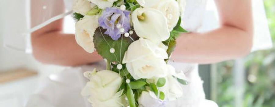 Beispiel: Brautstrauß, Foto: Jentsch Blumen.
