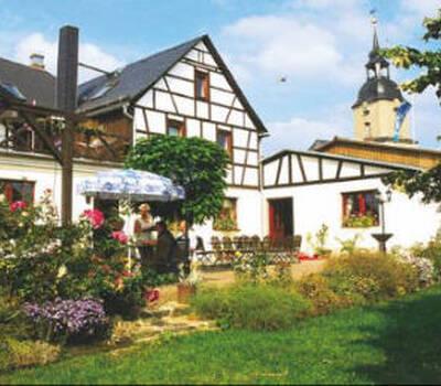 Beispiel: Haus mit Garten, Foto: Gasthof Taubenschlag.