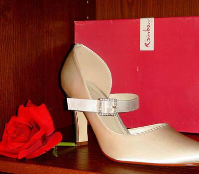 Beispiel: Brautschuhe für jeden Geschmack, Foto: Der Brautladen Schuhe.