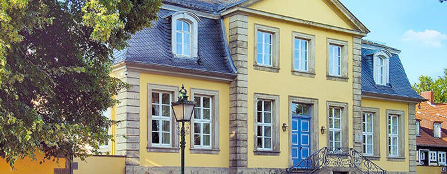 Beispiel: Außenansicht, Foto: Hardenbergsches Haus.