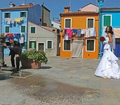 Sposi a Burano