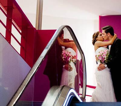 couple de mariés par Thierry Seguin Photographie