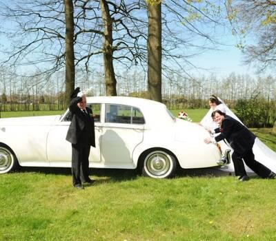 Tap trouwvervoer Rolls Royce Silver Cloud III