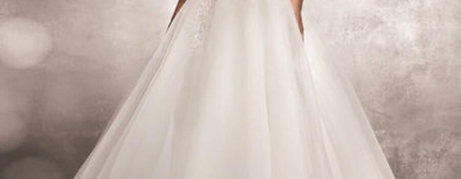 Beispiel: Wunderschöne Brautkleider, Foto: Pichler Wagensonner.