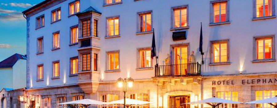 Beispiel: Außenansicht, Foto: Hotel Elephant.