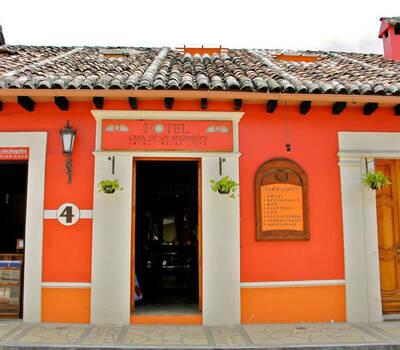 Hotel. Casa de los Arcángeles. San Cristóbal de las Casas, Chiapas.