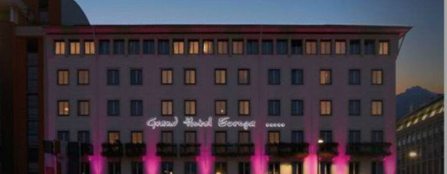 Beispiel: Außenansicht, Foto: Grand Hotel Europa Innsbruck.