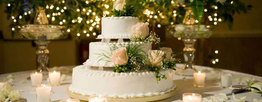Allestimento Tavolo Wedding Cake
