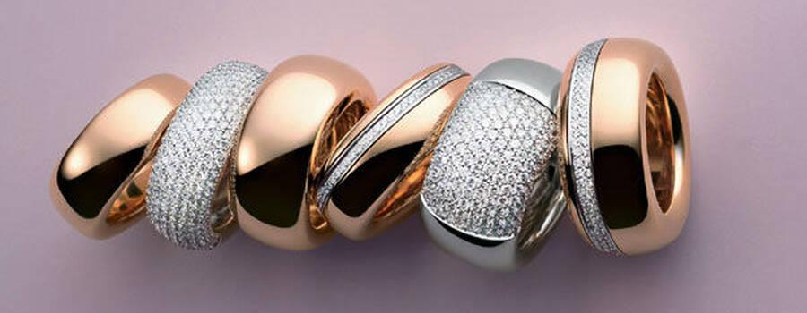 Beispiel: Trauringe für jeden Geschmack, Foto: Mayrhofer - Der Linzer Juwelier.