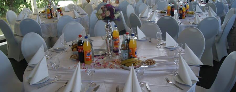 Beispiel: Tischdekoration, Foto: Cantína