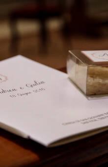 Wedding Church -libretto e scatolina riso