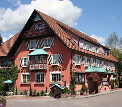 Beispiel: Vorderansicht, Foto: Parkhotel Krone Maleck.