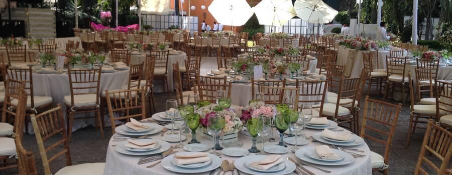 Montaje para boda 200 personas
