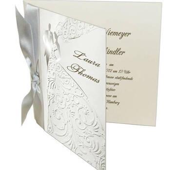 Beispiel: Hochzeitseinladungen, Foto: Kartenzia.
