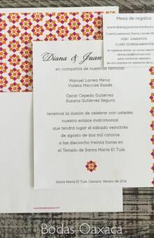 Invitación Mexicana contemporánea