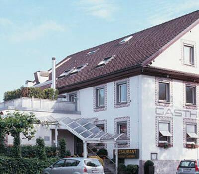 Beispiel: Außenansicht Hotel Hirschen Dornbirn, Foto: Hotel Hirschen Dornbirn.