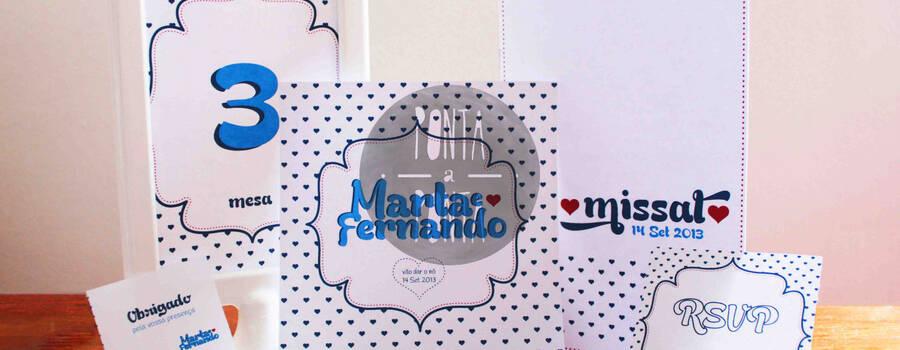 Kit Casamento M&F