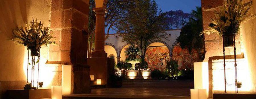 Instituto Allende. Jardines. San Miguel de Allende,Gto