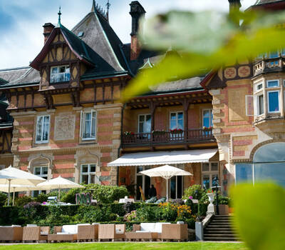 Beispiel: Parkblick, Foto: Villa Rothschild.
