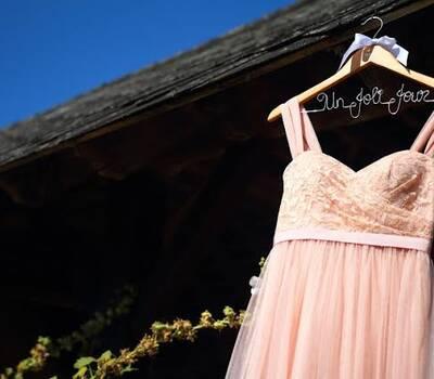 Cintre Nitouche - cintre personnalisé pour robe de mariée