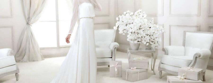 Beispiel: Brautmode, Foto: Brautmoden Tirol - Dagmar Melmer.