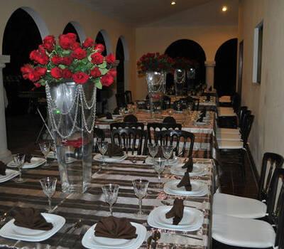 Casa Blanca Banquetes, empresa de organización de bodas, en Mérida Yucatán