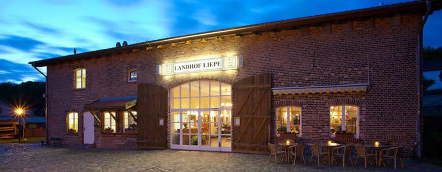 Beispiel: Außenansicht, Foto: Landhof Liepe.