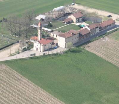 Veduta aerea - Agriturismo La Longa