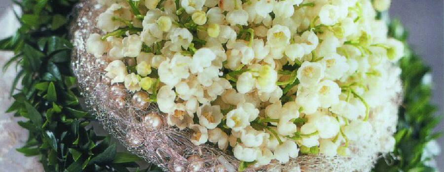 Beispiel: Brautstrauss, Foto: Blumen Komander.