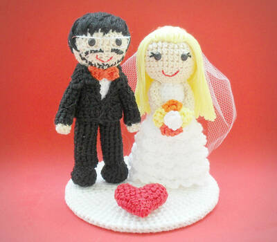 Casamento de Crochê
