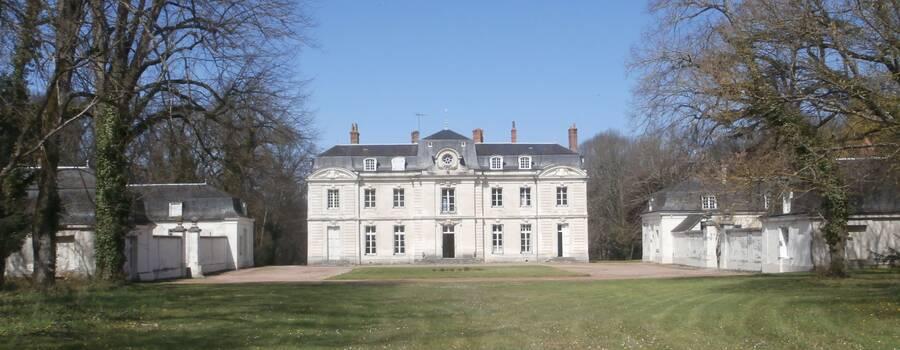 Chateau de St SENOCH - Cour d'honneur