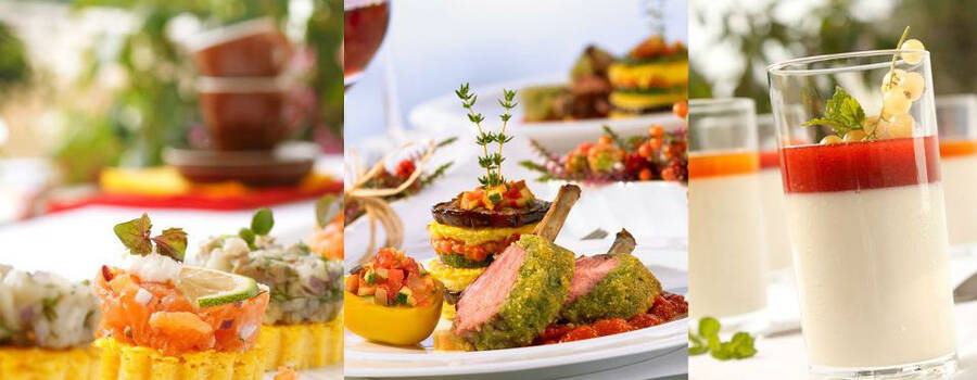 Beispiel: Professionelles Catering, Foto: Henning´s Catering.