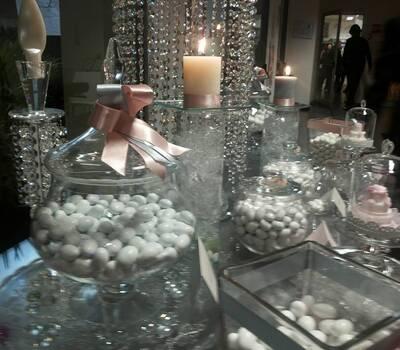 confettata crystal rosa cipria e ghiaccio