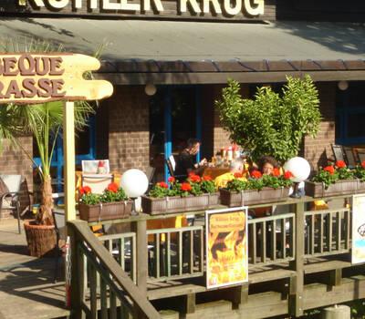Beispiel: Terrasse, Foto: Brauhaus Kühler Krug.