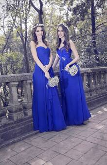 Cocoa d´honor modelo 4, azul royal