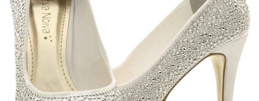 Nova Noiva Sapatos