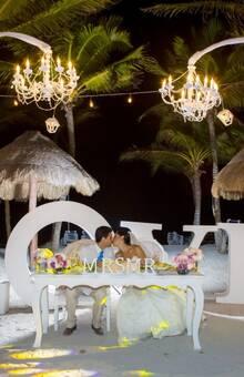 decoración con chandeliers