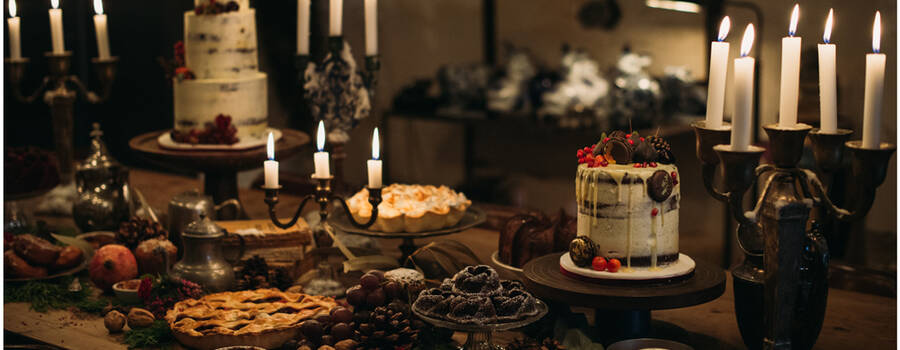 Mesa Dulce boda Navidad. Foto: La Dichosa.