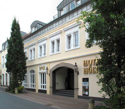 Beispiel: Eingang, Foto: AKZENT Hotel Höltje.