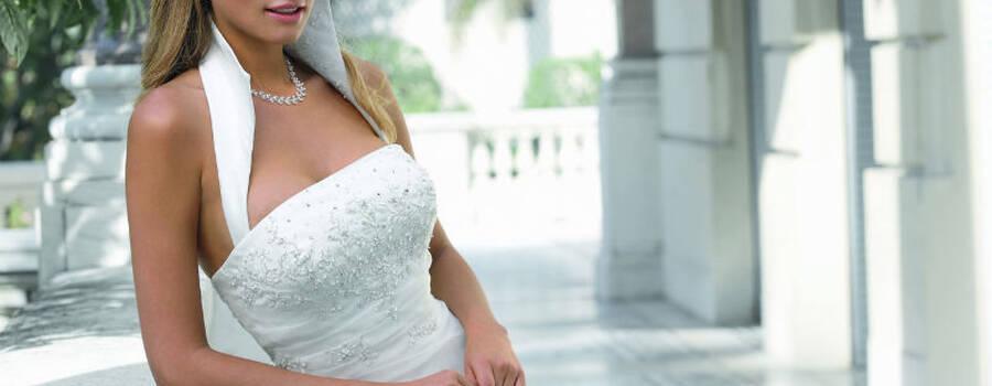 Beispiel: Brautkleid, Foto: BRAUTKULTUR.