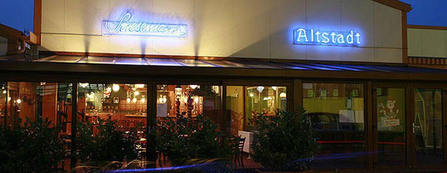Beispiel: Außenansicht, Foto: Stresemann´s Gasthaus.