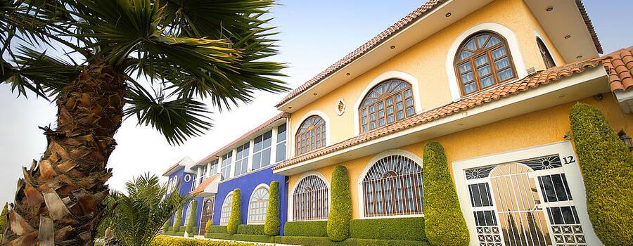 Jardín Hacienda de los Ángeles en Texcoco, Estado de México
