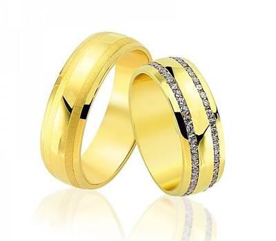 Beispiel: Trauringe - Gelbgold, Foto: Juwelier Goldfee.