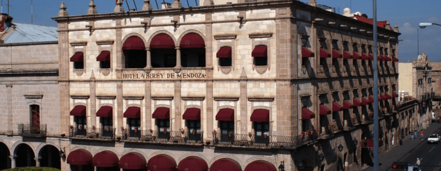 Hotel para bodas y luna de miel en Morelia - Foto Hotel Virrey de Mendoza
