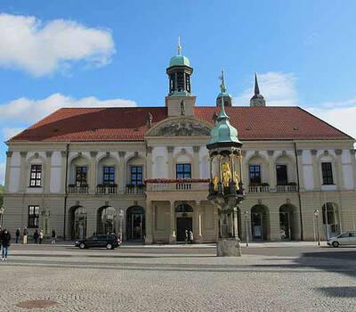 Beispiel: Außenansicht, Foto: Ratskeller Magdeburg.
