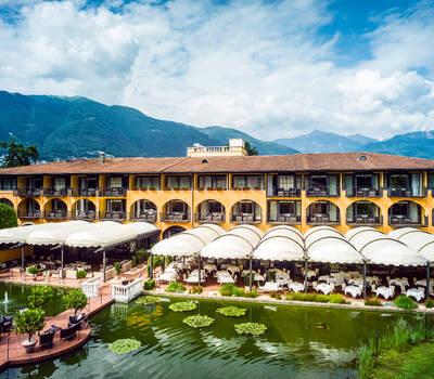 Restaurant Aphrodite, Giardino Ascona